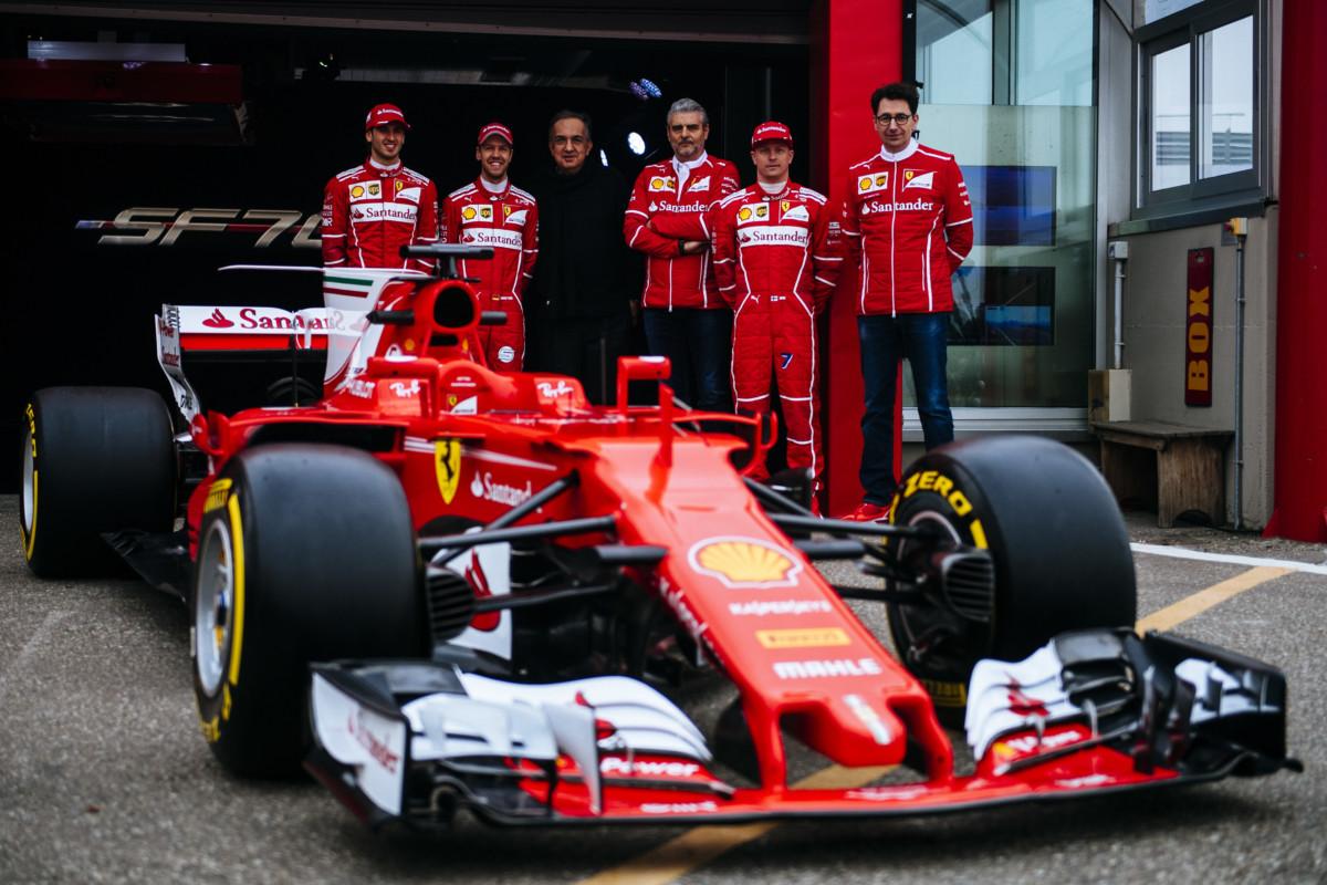 Ferrari SF70H: il giorno del debutto in video