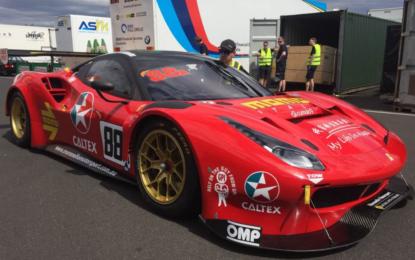 Vilander e la Ferrari alla 12 Ore di Bathurst