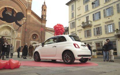 Un San Valentino speciale per Fiat 500