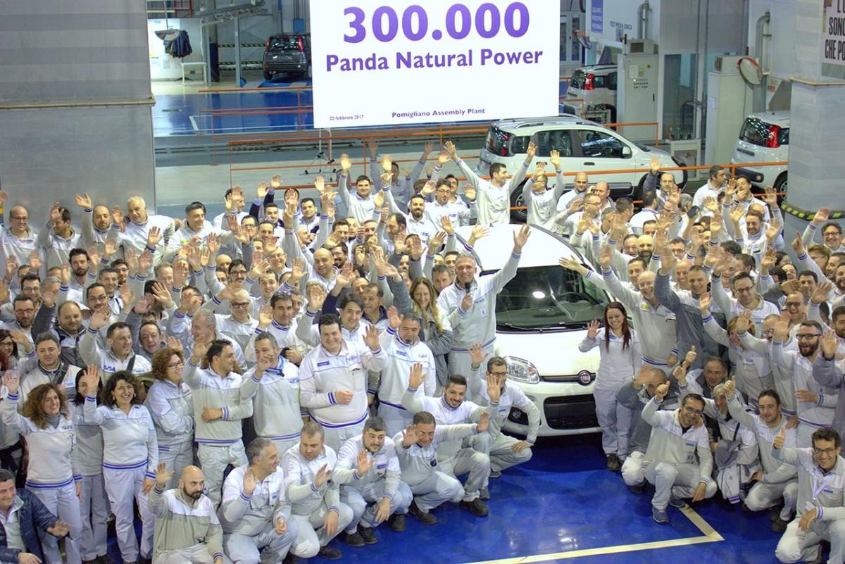 A Pomigliano la Panda numero 300mila
