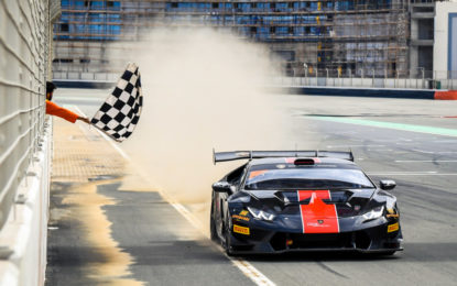 Nuovi leader nel Lamborghini Super Trofeo Middle East