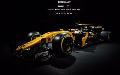 Ecco la Renault R.S.17 di Palmer e Hulkenberg