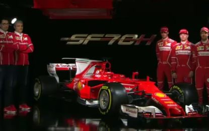 SF70H: ecco la Ferrari F1 2017