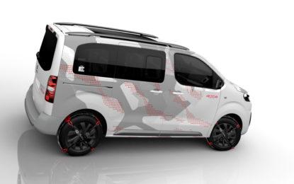 A Ginevra debutto di Citroën SpaceTourer 4X4 Ë Concept