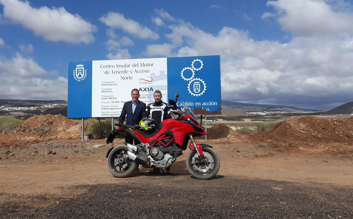 Circuito del Motor de Tenerife: giro in moto in anteprima