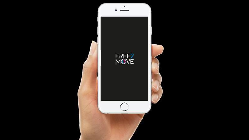 Free2Move: l'app di servizi mobilità PSA