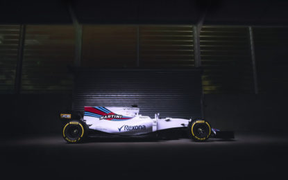 Ed ecco la Williams Mercedes FW40
