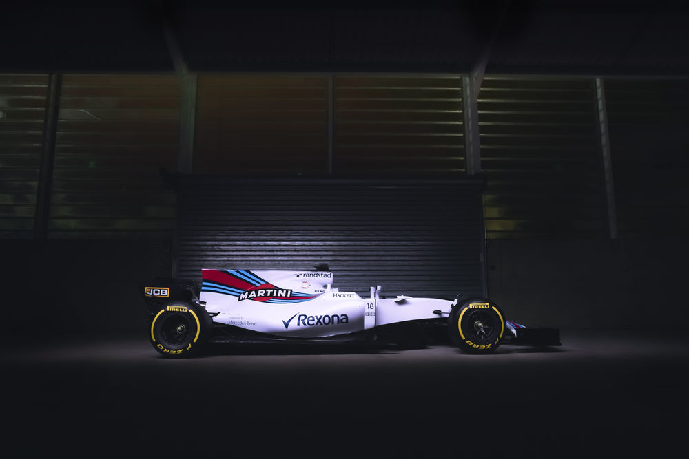 Williams Martini Racing FW40 Mercedes Launch.