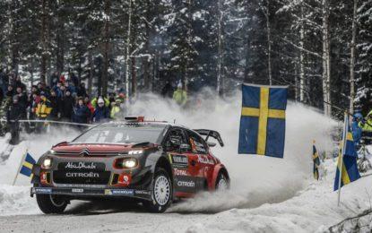 WRC Svezia: il punto Citroen sul primo giorno