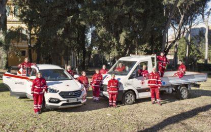 Hyundai: 5 veicoli per la Croce Rossa Italiana