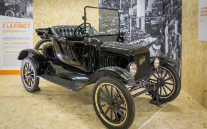 """Il Museo Nicolis con una Ford T alla mostra """"Oltre l'Uomo"""""""
