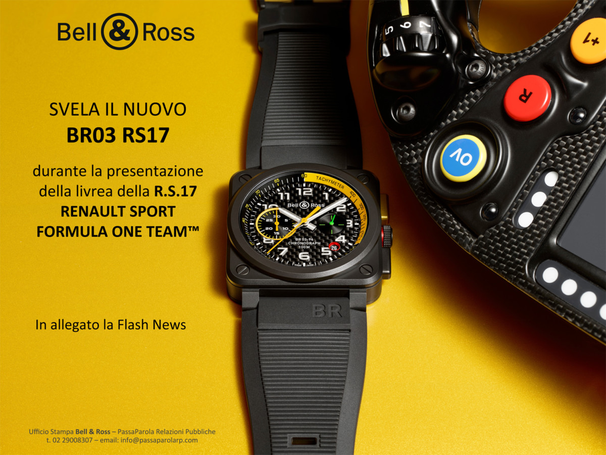 Bell & Ross: nuovo BR03 RS17