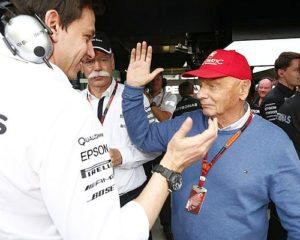 Wolff: le azioni di Lauda, i piloti, il rapporto con la Ferrari