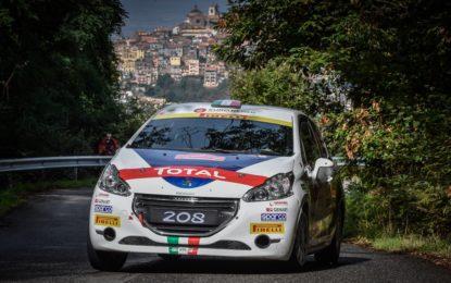 Peugeot Rally Junior Team 2017 con Pollara e Princiotto
