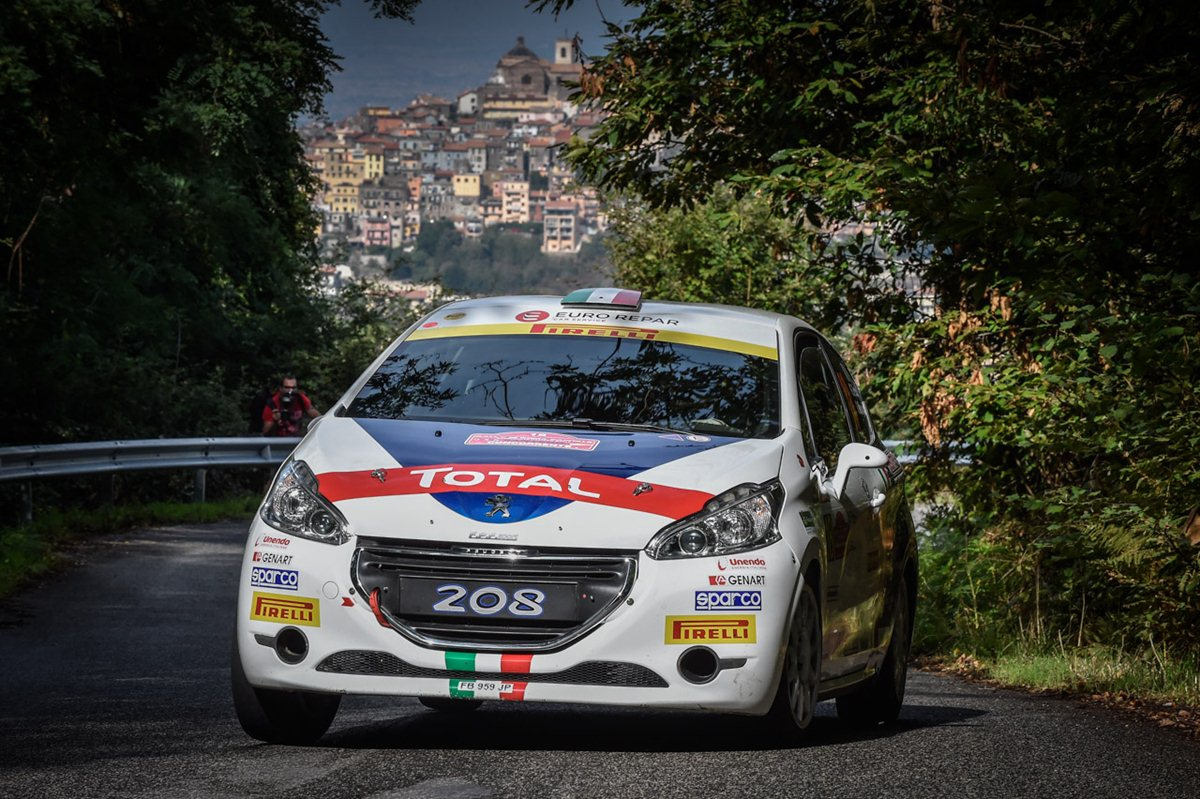 Peugeot Rally Junior Team 2017 con Pollara e Princiotto