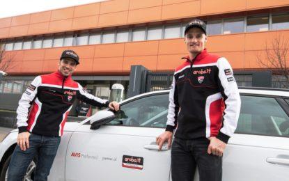 Avis sponsor del team Aruba.it Racing Ducati Superbike