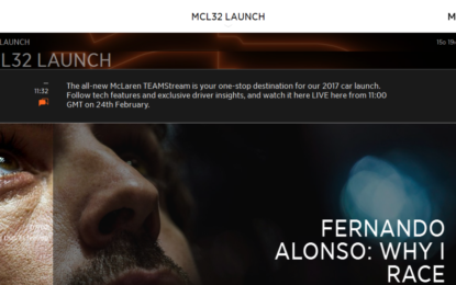 McLaren F1 lancia TEAMStream