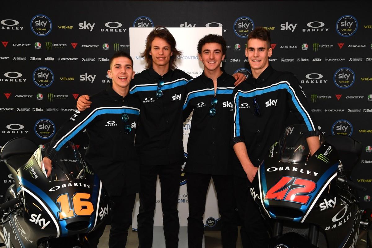 Sky Racing Team VR46: nel 2017 doppio impegno