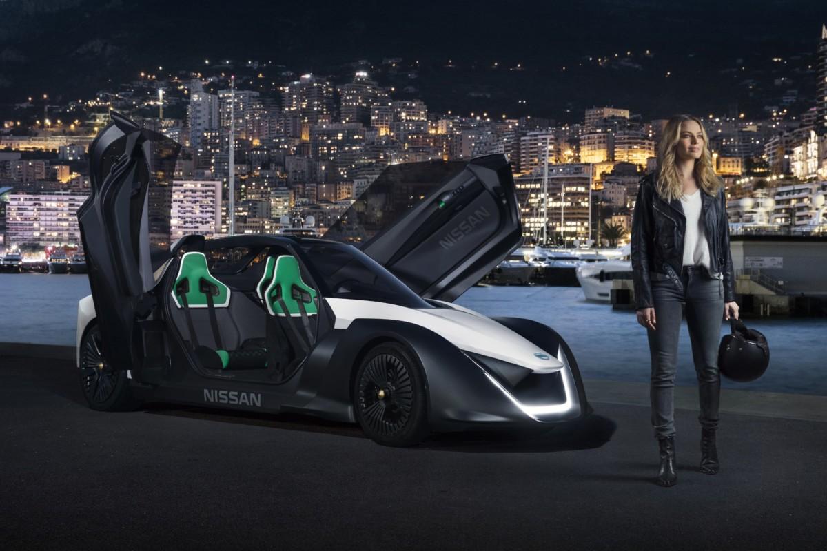 Margot Robbie e Nissan: debutto elettrizzante a Monaco!