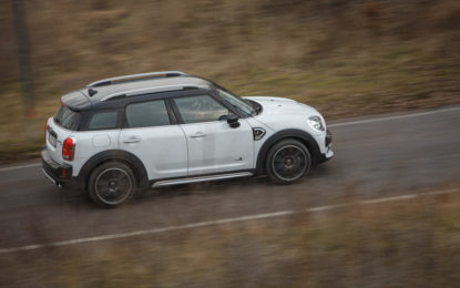 MINI Countryman in viaggio con Italia's Got Talent