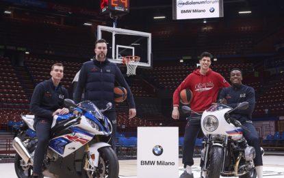 BMW Motorrad Milano coi campioni EA7 Olimpia