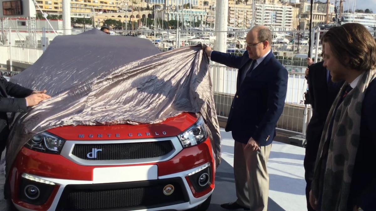 DR4 e DR Evo5 Monte Carlo svelate dal Principe Alberto II