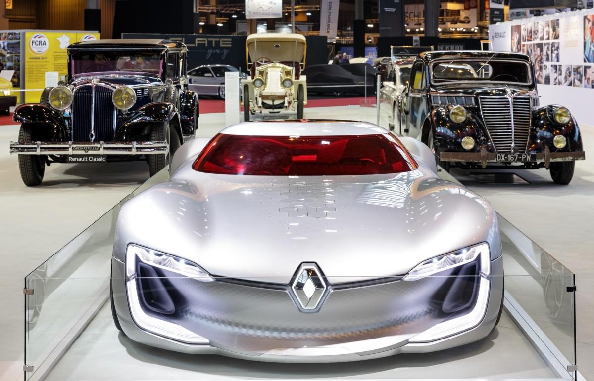 Renault a Rétromobile: dalla Belle Epoque a TREZOR