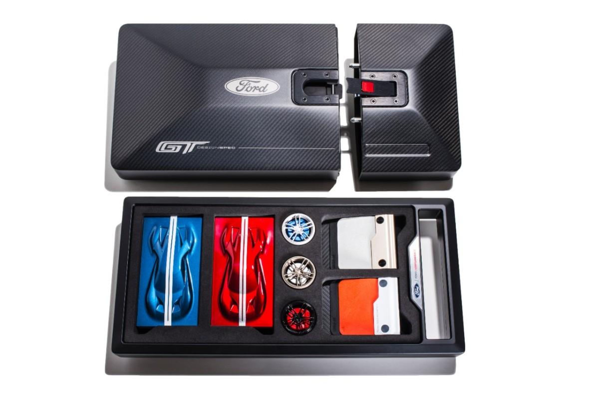 Kit sensoriale per personalizzare la Ford GT