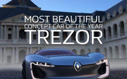 Renault TREZOR Concept-Car più bella dell'Anno 2016