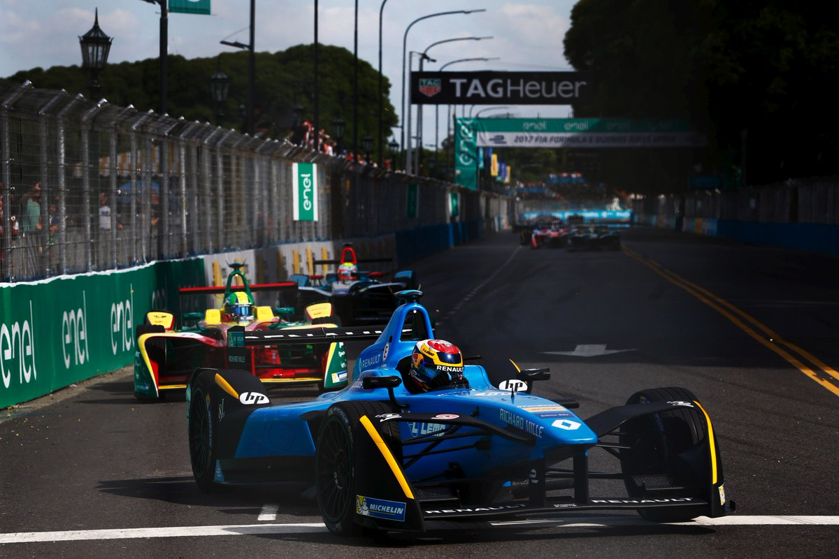 Formula E: Renault e.dams vince a Buenos Aires con Buemi