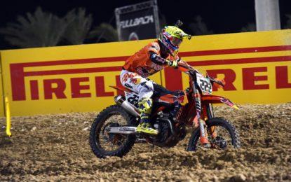 Motocross: Cairoli e Pirelli brillano in Qatar
