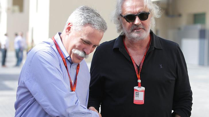 Flavio Briatore dubbioso su Ferrari e Liberty Media