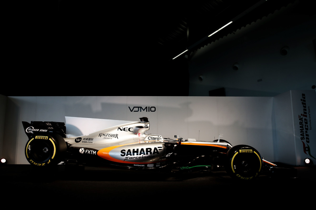Ed ecco la Sahara Force India VJM10
