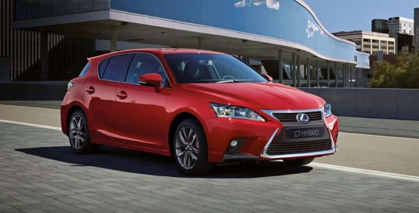 Nuova Lexus CT Hybrid ICON