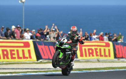 Superbike: prima vittoria 2017 a Rea
