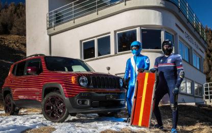 Jeep Renegade Limited firmata Garage Italia Customs