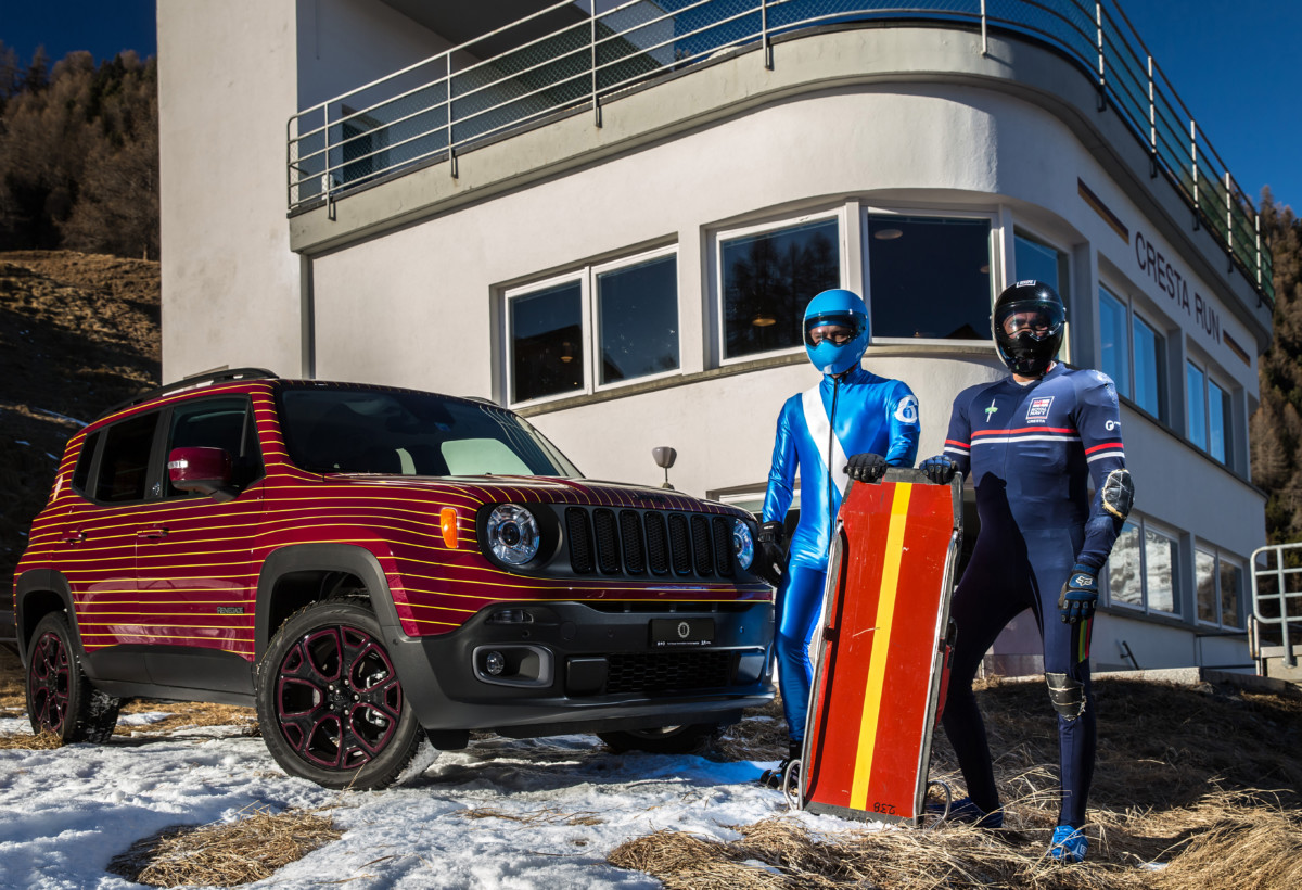 Jeep Renegade Limited firmata Garage Italia Customs