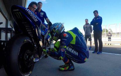 I test della MotoGP e il compleanno di Valentino