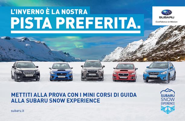 Subaru Snow Experience 2017: appuntamento sulla neve!