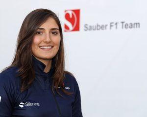 Tatiana Calderòn development driver Sauber