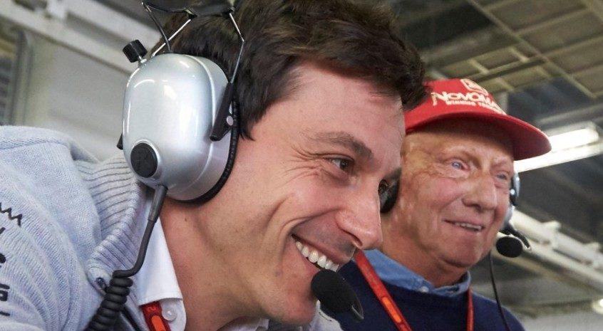 Toto Wolff & Niki Lauda: rinnovo Mercedes fino a fine 2020