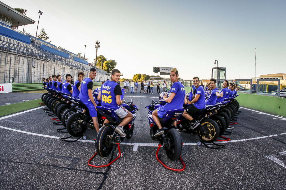 Yamaha presenta bLU cRU