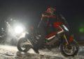 Marquez sulla neve con la MotoGP e il nuovo Honda X-ADV