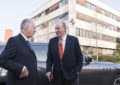 Juan Carlos I di Borbone in visita alla Ferrari