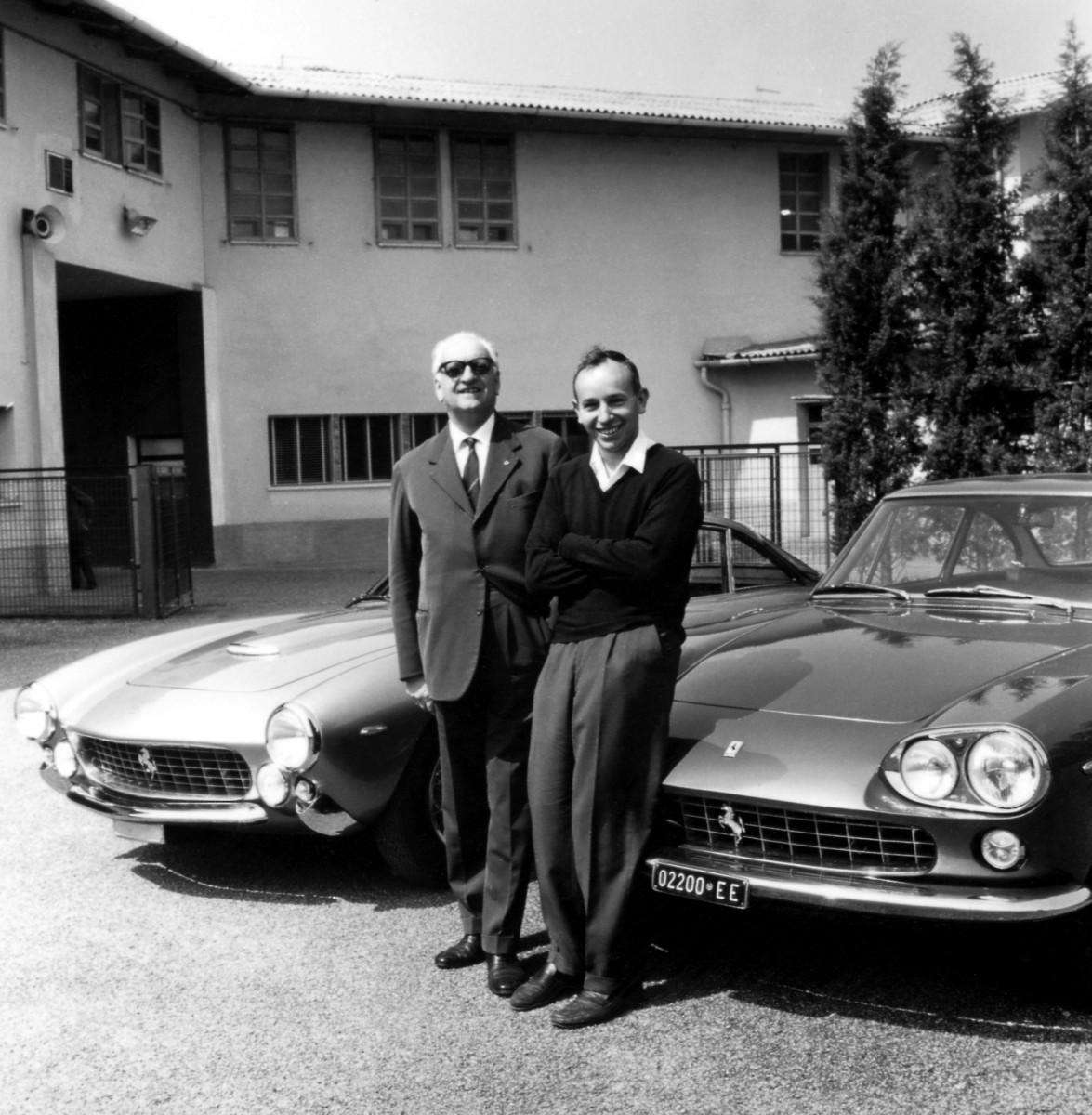 La Ferrari saluta il suo campione John Surtees