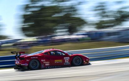 Doppio podio Ferrari alla 12 Ore di Sebring