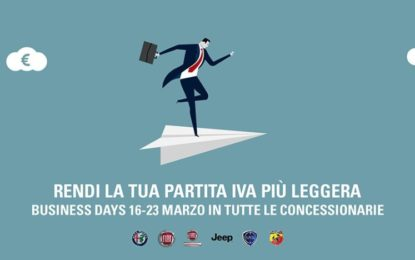 Tornano i Business Days di FCA