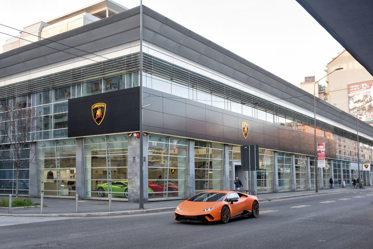 Per Lamborghini una nuova concessionaria a Milano