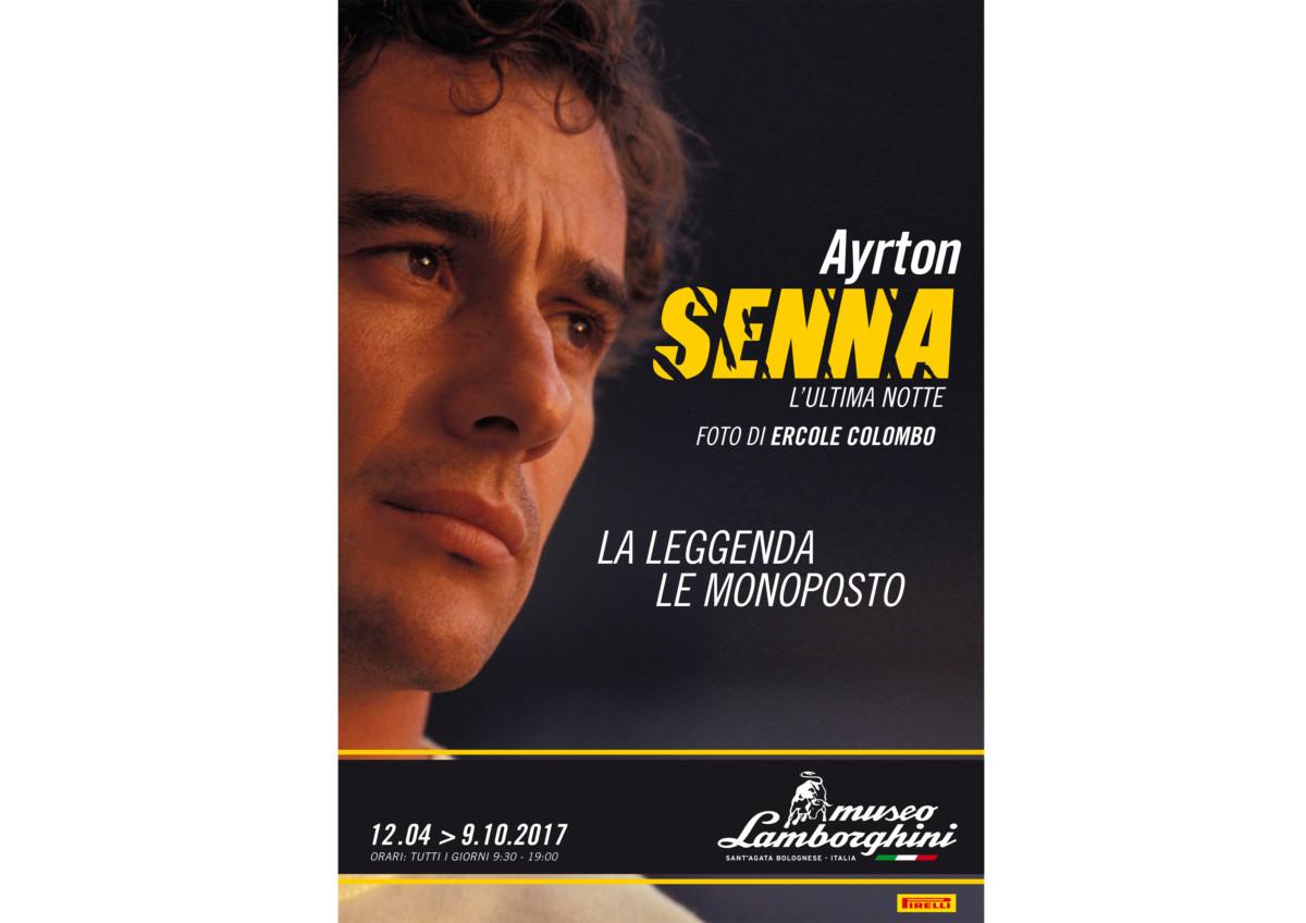 Ayrton Senna: mostra speciale dal 12 aprile al Museo Lamborghini