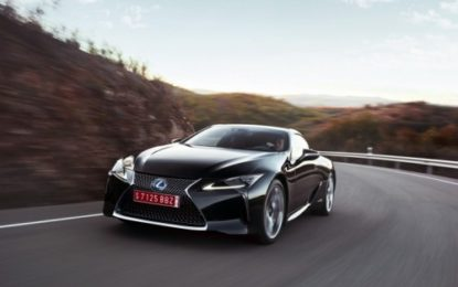 Lexus LC Hybrid: via alle prenotazioni